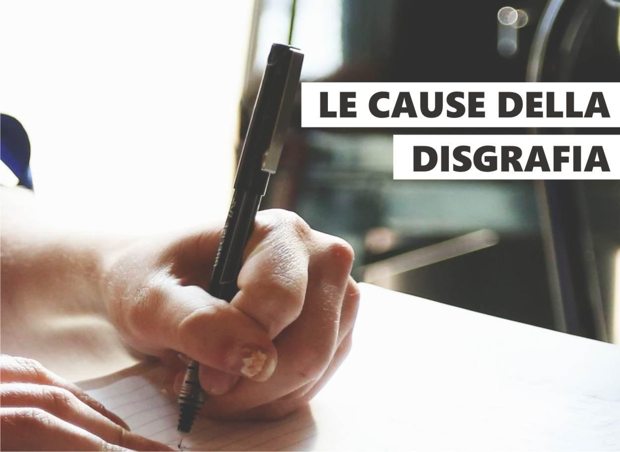 cause della disgrafia