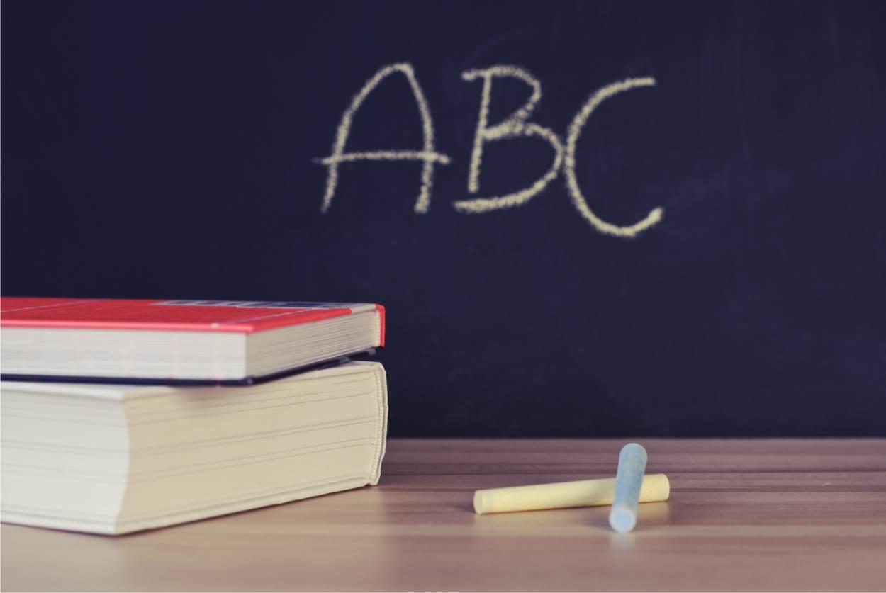 scrivere a scuola
