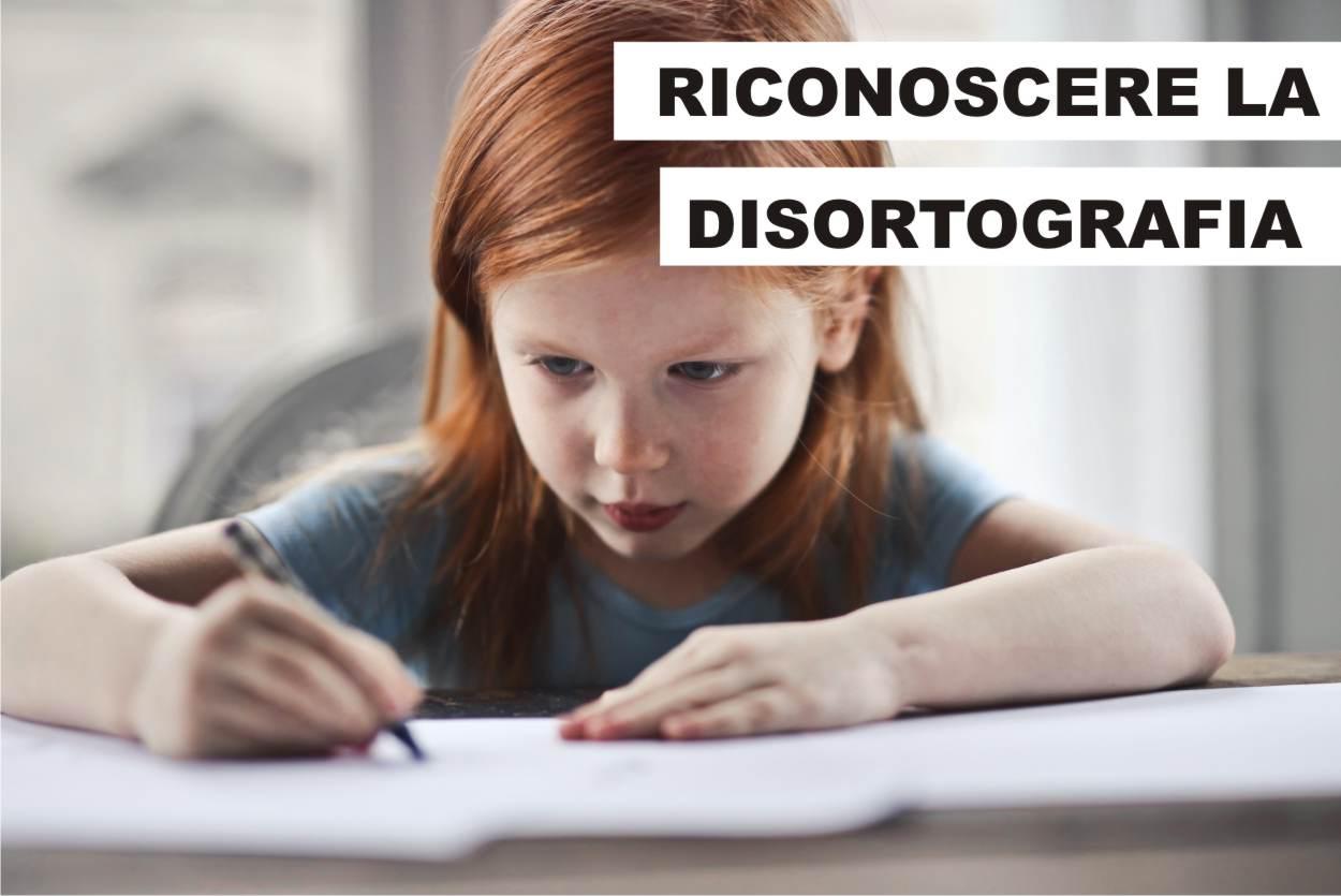 segnali della disortografia