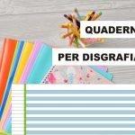 Quaderni per disgrafici